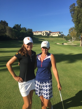 With the famous, Victoria Morgan at Riviera CC